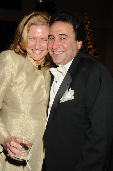 Diane Britzlotti and Michael Capasso at DICAPO OPERA Celebrates Puccini's 150th Birthday